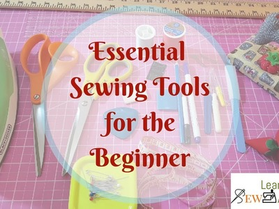 Basic Sewing Tools for Beginners | Quick Sewing Tips #5 | LTS Academy