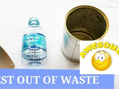 Best out of waste idea | DIY simple home decor 2018!
