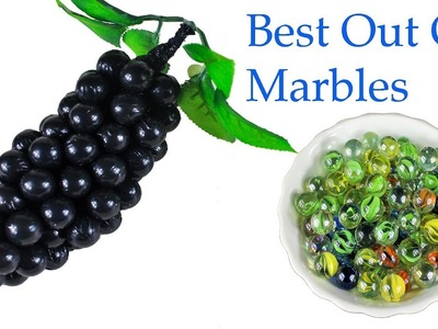 Best Out Of Waste Marbles | DIY-Grapes at Home | Mr Crafts 23