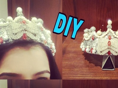 Best Out Of Waste Plastic Bottle | DIY Tiara Out of plastic bottle | Plastic bottle. foil craft: