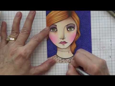 Day 27. How To Enhance Your Copic Coloring