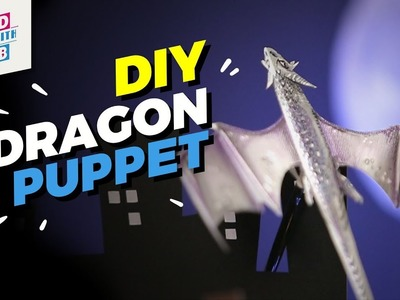 DIY Dragon Puppet | Mad Stuff With Rob