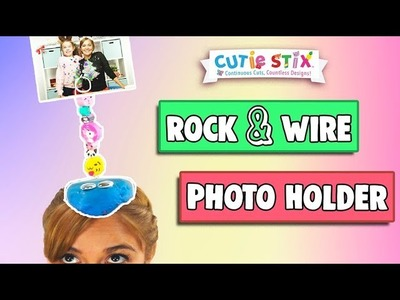 DIY Easy Photo Holder | How To Wow Show | Official Cutie Stix