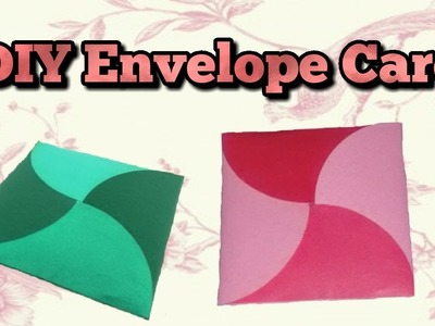 DIY Envelope Card.Tutorial for scrapbook.Tutorial for explosion box