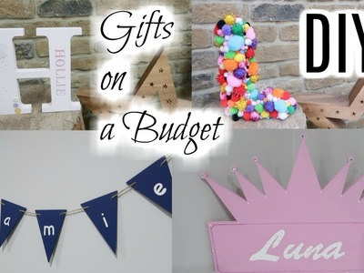DIY GIFTS FOR UNDER £5 | GIFTING ON A BUDGET | KERRY WHELPDALE
