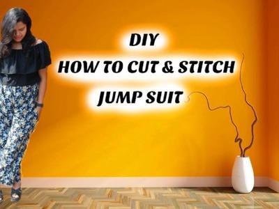 DIY: HOW TO CUT & STITCH JUMP SUIT
