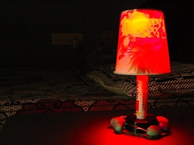 DIY-How to make a night lamp