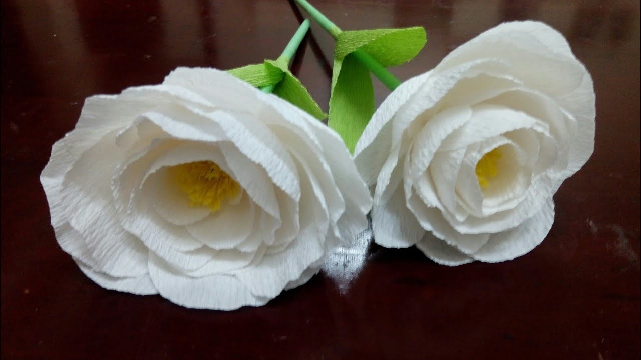 Diy Paper Flowers Making How To Make Paper Flowers Flower Making
