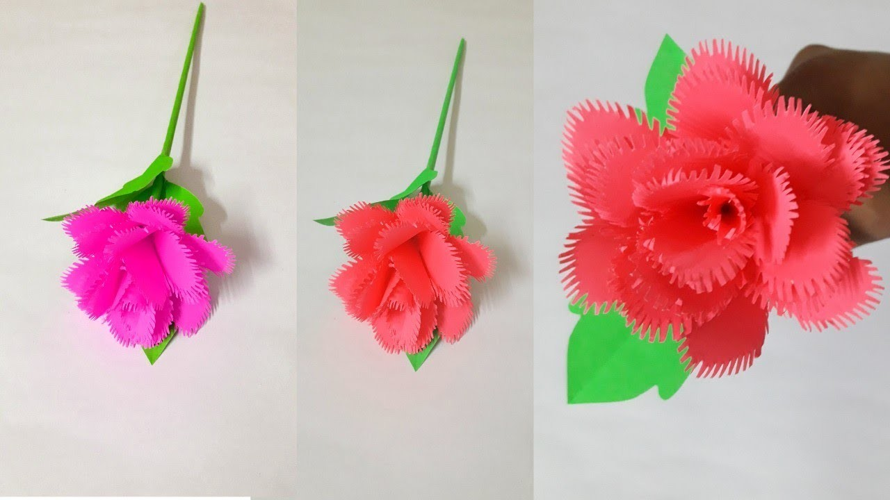 Diypaper rose how to make realistic paper rose origami paper diypaper rose how to make realistic paper rose origami paper flower mightylinksfo