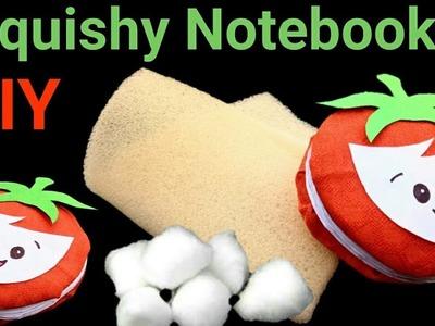 DIY Squishy Mini Notebook using Foam and Cotton
