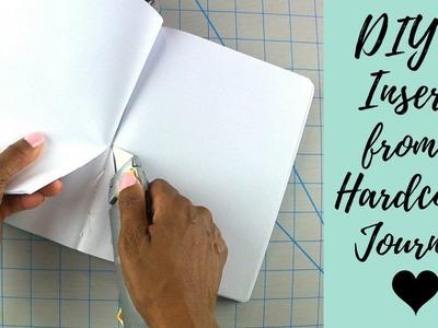 DIY Traveler's Notebook Inserts | Taking Journal Binding Apart for B6 TN