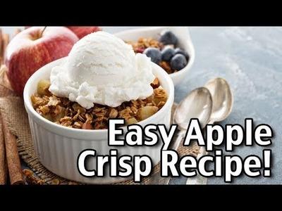 Easy Apple Crisp Recipe - How To Make Apple Crisp