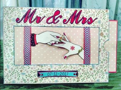 Handmade Card for Anniversary   Handmade Card for Husband   DIY Crafts   Creative Ideas