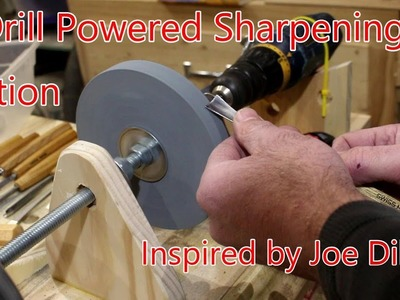 How to Build a Drill-Powered Sharpening Station