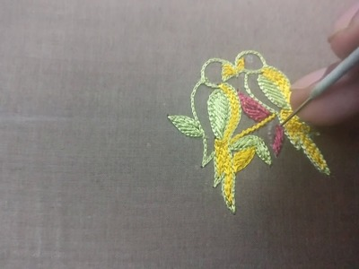 How to Design a Parrot using Embroidery