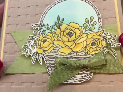 How to make a gorgeous Blossoming Basket Card