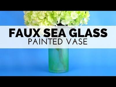 How to Make a Vase Look Like Sea Glass