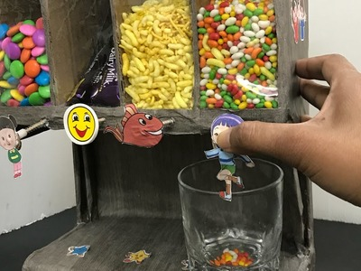 How to Make Candy Dispenser or Cereal dispenser
