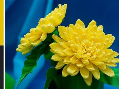 How to make paper flowers : Chrysanthemum