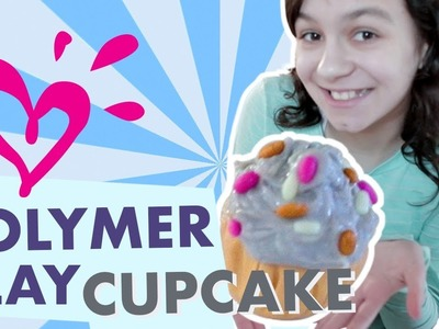 HOW TO MAKE POLYMER CLAY CUPCAKES ???? JUSTICE