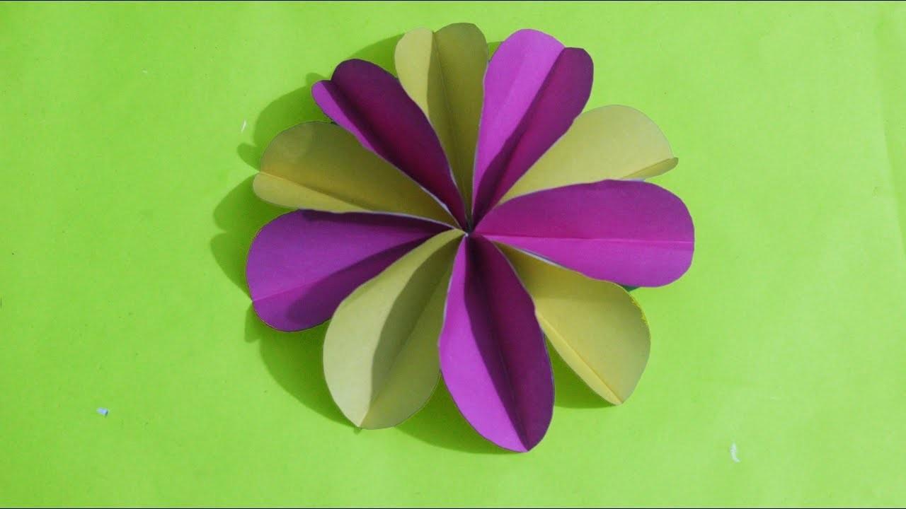 Paper Design Flower Easy Flowers Healthy