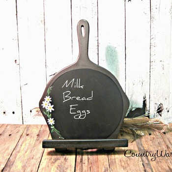 Mothers Day Gift, Wood iPad Stand, Chalkboard stand, Kitchen iPad Stand, iPad Holder, Tablet Stand, Cookbook Stand, Kitchen Decor