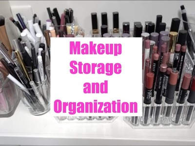 My Makeup Storage | Makeup Storage and Organization | How To Organize Makeup | How to Store Makeup