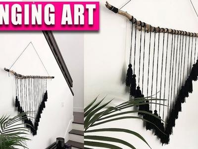 NEW! DIY Hanging ART - Tree Branch Wall Art