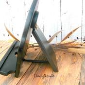 Rustic Decor, Wood iPad Stand, iPad Stand, Kitchen iPad Stand, Tablet Stand, Cookbook Stand, Kitchen Decor, Country Decor, Rustic Decor
