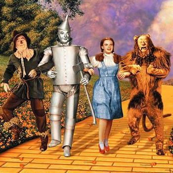 The Wizard OF Oz Cross Stitch Pattern LOOK
