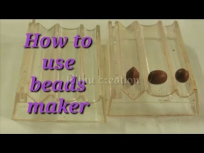 Tutorial : How to make different types of terracotta beads in  bead maker. use of  terracotta beads