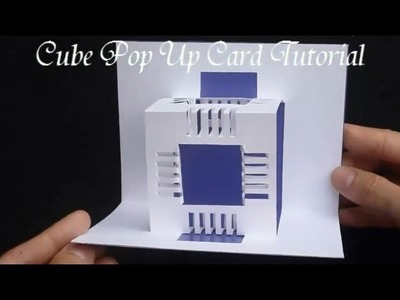 17 How To Make An Amazing Cubes Pop Up Card, Origamic Architecture