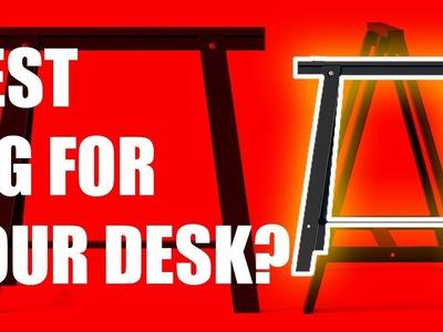 DIY 8 Feet Long Desktop - Part 1: Assembling the Desk Leg