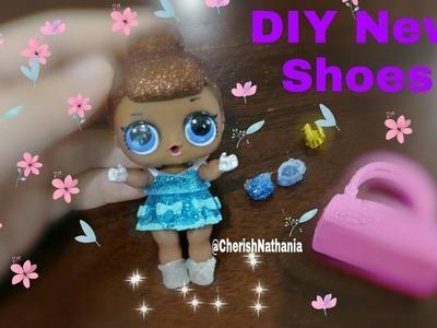 DIY Cara Membuat Sepatu Boneka LOL Surprise CMS  - How To Make LOL Surprise Dolls's Shoes - Mudah