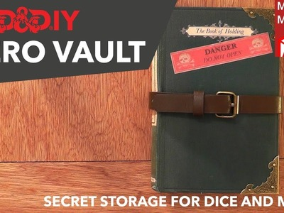 "DIY Hero.Dice Vault | ""The Book Of Holding"""