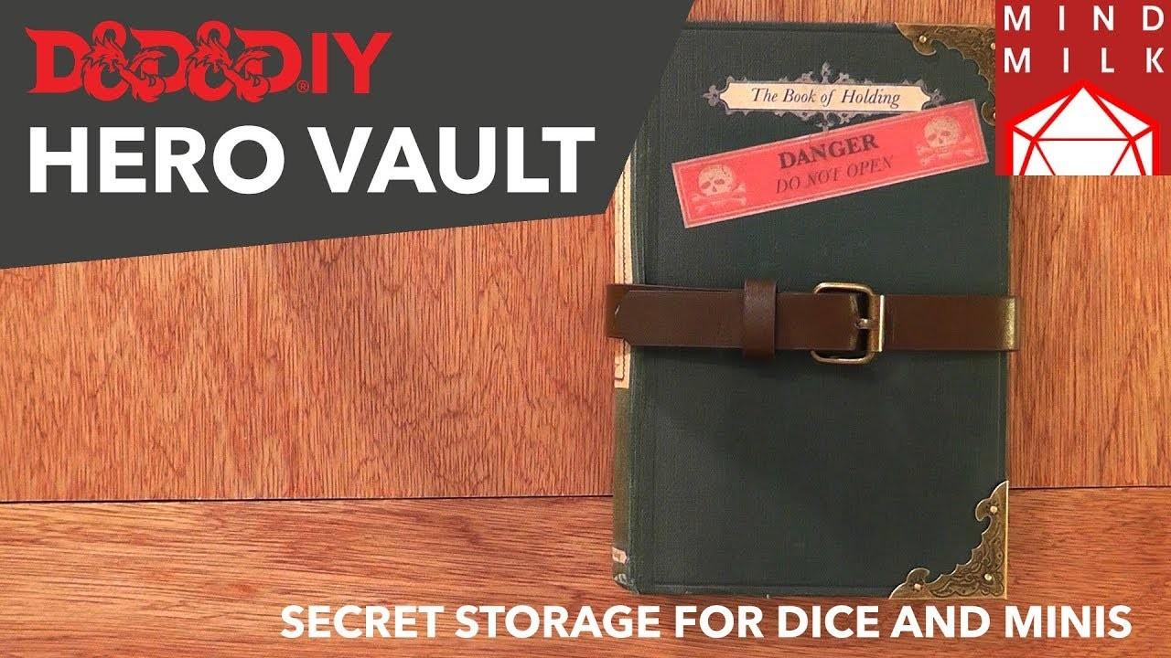 "DIY Hero.Dice Vault   ""The Book Of Holding"""