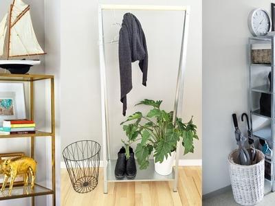 DIY IKEA Hacks For Entryways