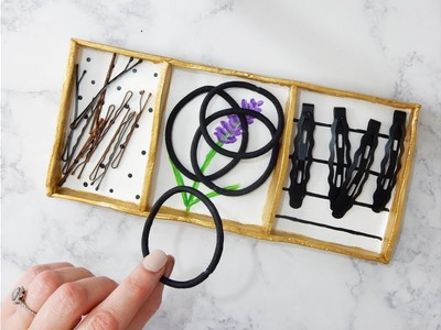 DIY Jewelry and Hair Accessories Organizer