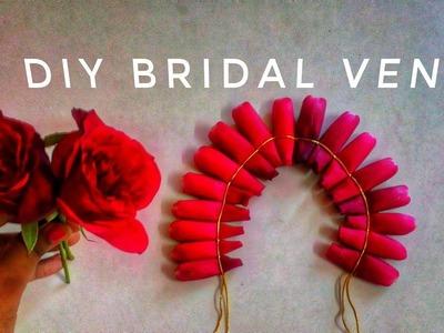 Easy Method to tie Rose Veni | DIY