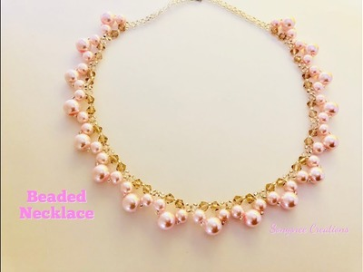 Easy to make Bridal Necklace