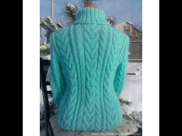 Hand Knitted Girls Sweater Designs