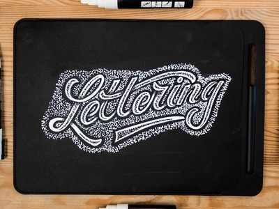 Hand Lettering | How To Letter On ANYTHING! ????