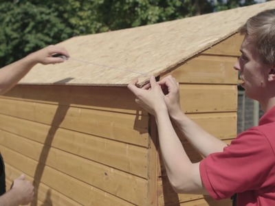 How to Erect a Shed - DIY Advice at Bunnings