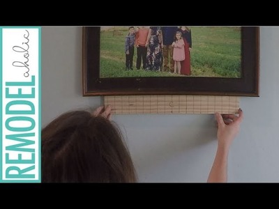 How to Hang a Huge Gallery Wall in Just 2 Hours!