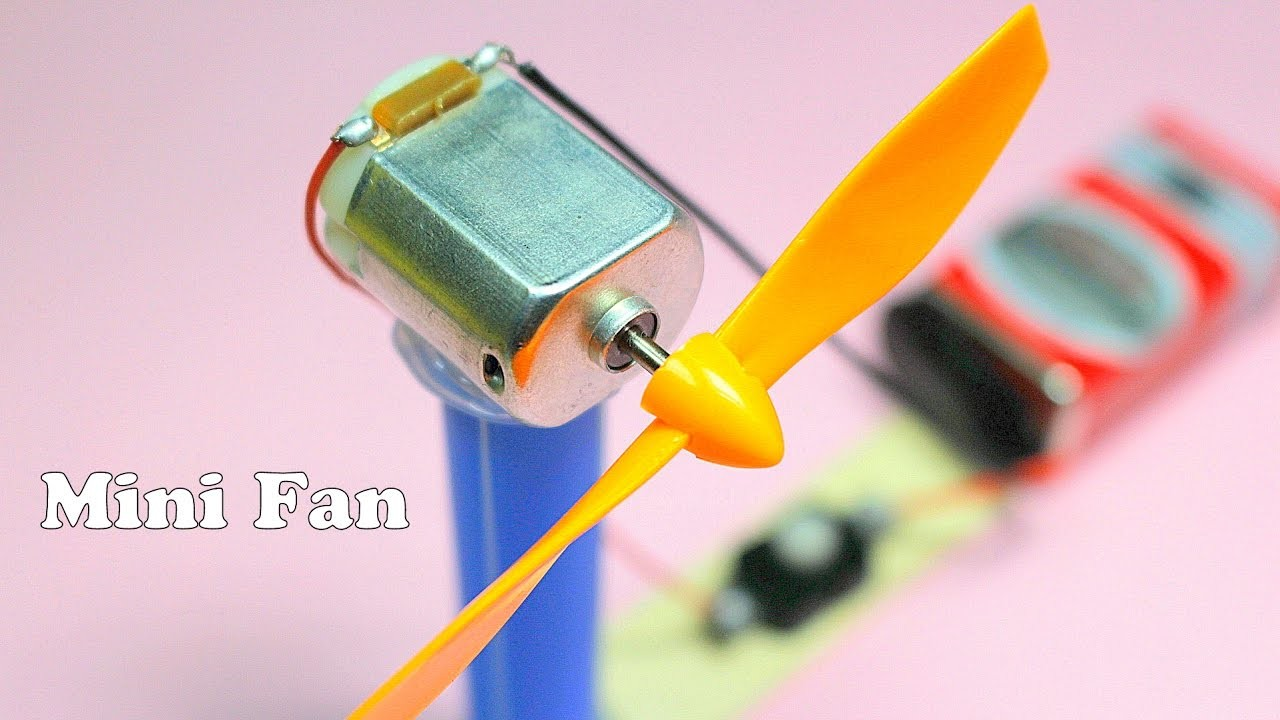 How to make a Mini Electric Fan