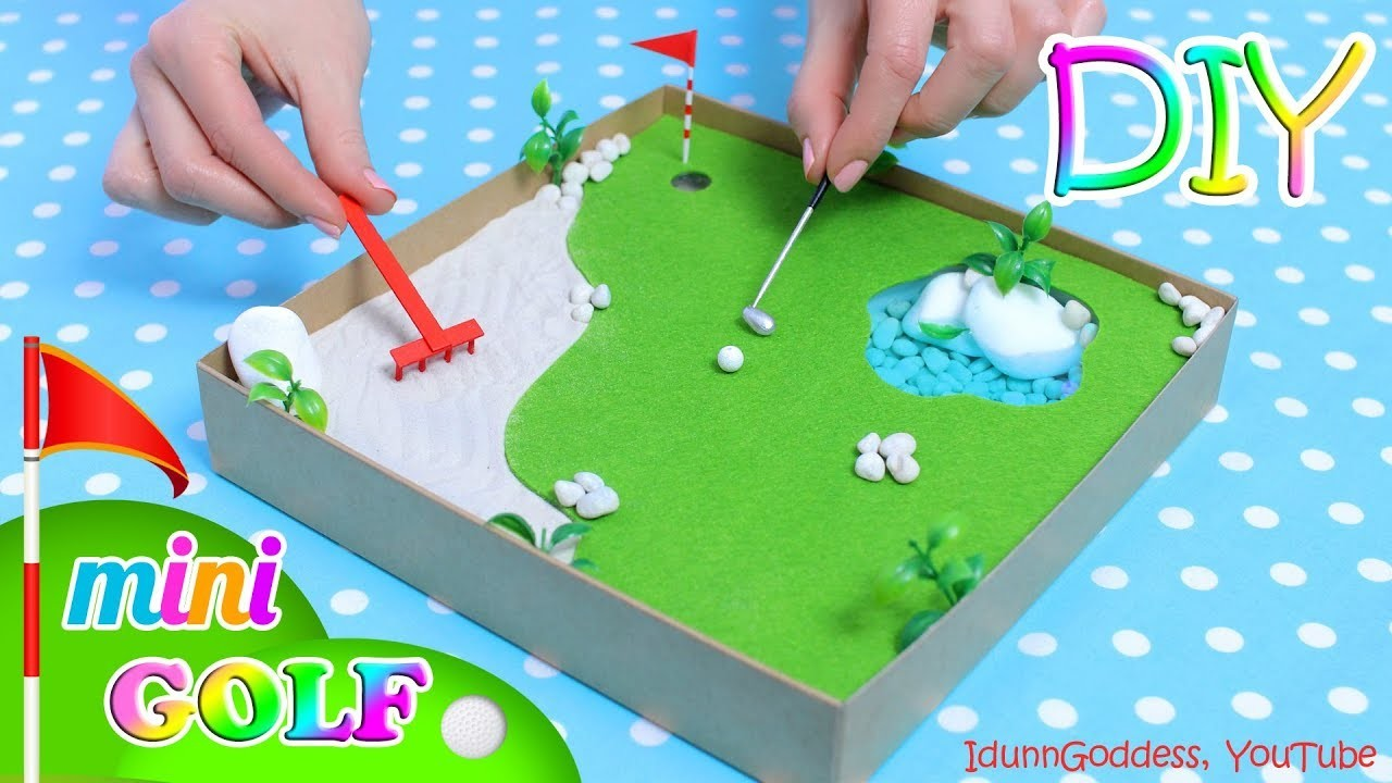 How To Make A Miniature Golf Zen Garden – DIY Stress-Relieving Desk Decoration