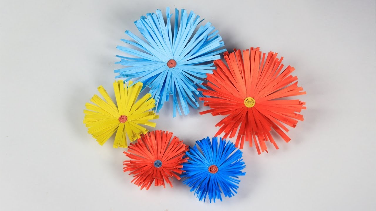 How To Make A Paper Flower Paper Flower Making Step By Step