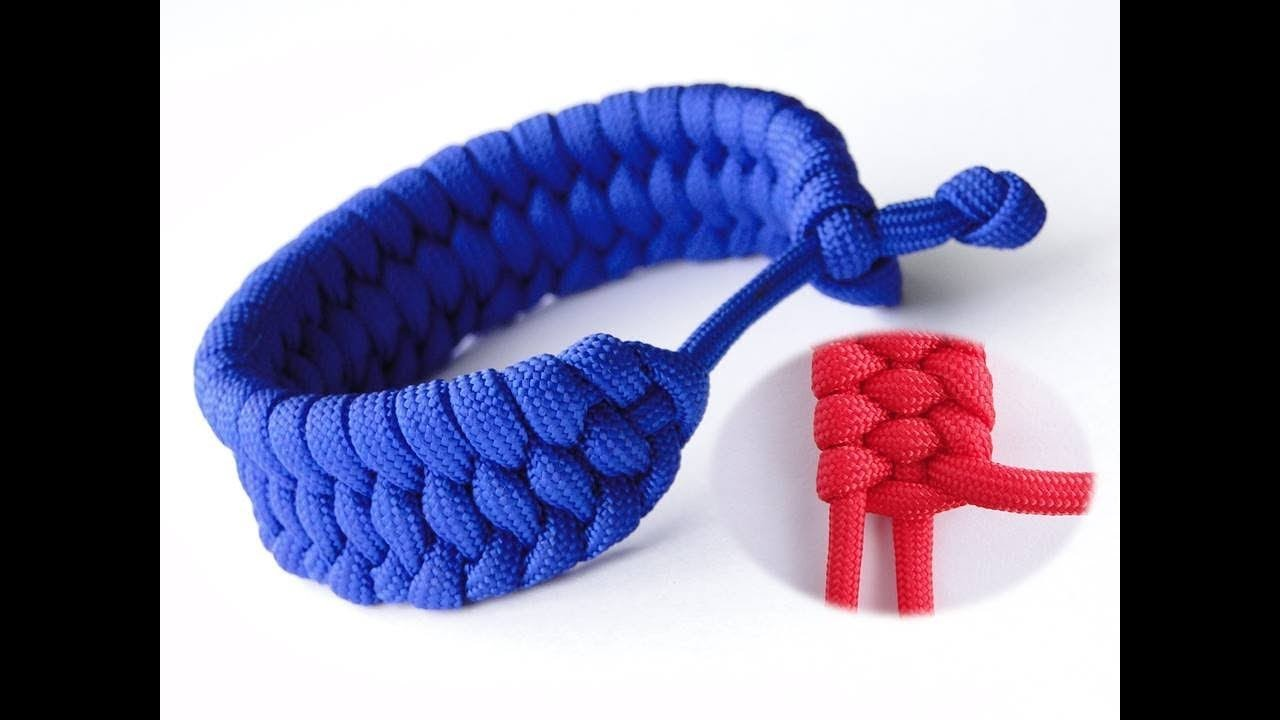 How to Make a Rastaclat Style Modified Trilobite Paracord