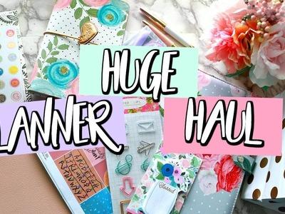 Huge Planner Haul! CHICAGO PLANNER CONFERENCE SWAG | Belinda Selene