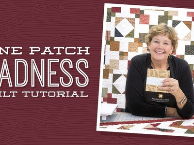 Make a 9 Patch Madness Quilt with Jenny!